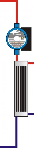 Frischwasser Hygiene Modul 40L mit ECO-Pumpe