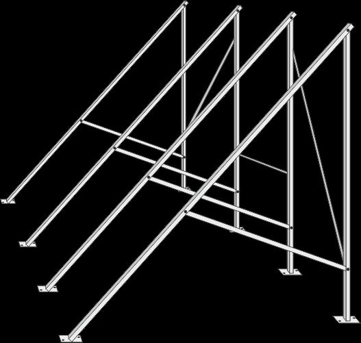 Flachdachständer für Zeus 30