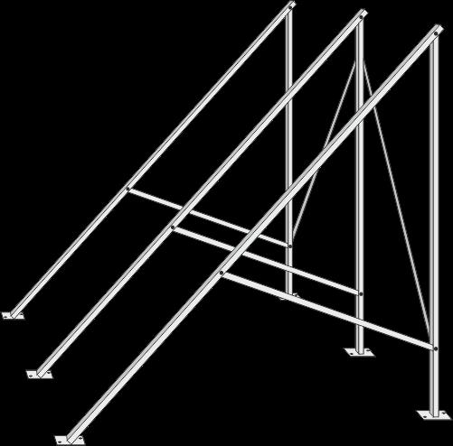 Flachdachständer für Zeus 20