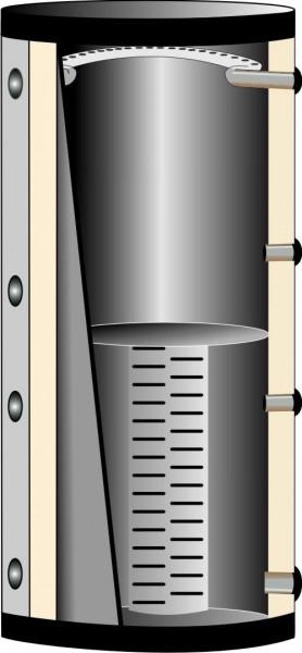 Schichtladespeicher mit Einschichtsystem ESS-WT0